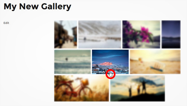 Blur Your Image Gallery Thumbnails