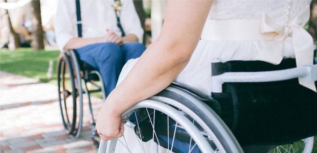 Bride or Groom in a Wheelchair