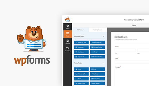 WP Forms best WordPress plugins for photographers