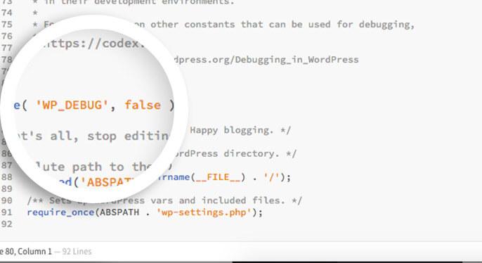 make sure debug is set to false