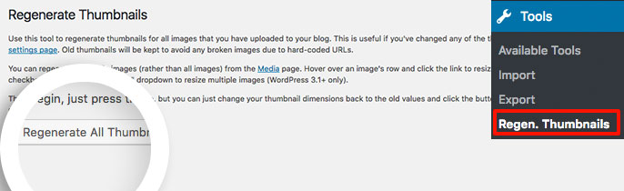 Run the Regenerate Thumbnails plugin to regenerate your gallery images