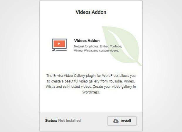 Videos Addon