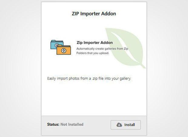 Zip Addon