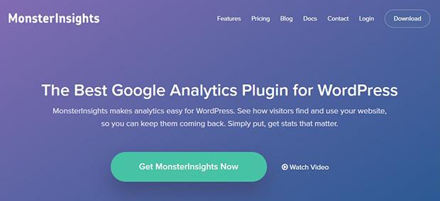 MonsterInsights Website