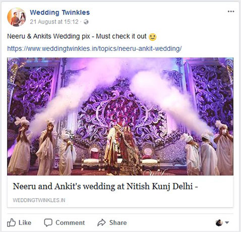 Wedding Twinkles Ad