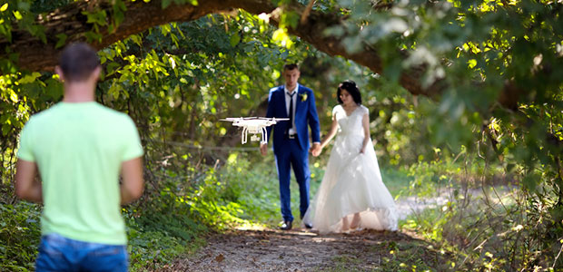 Wedding Photography with Drones