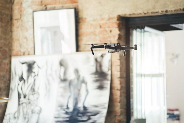 Indoor Photos with drones