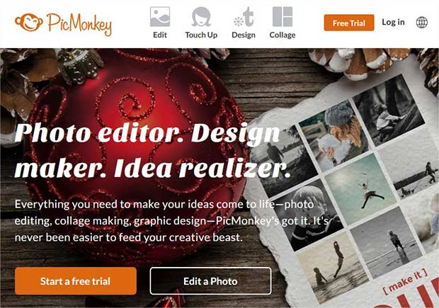 pic monkey editsoftware - About Photography, how it all began