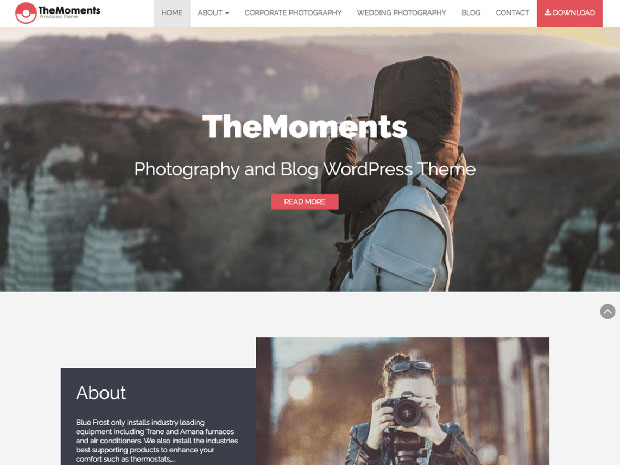 TheMoments Theme