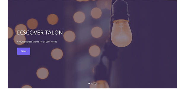 Talon WordPress theme