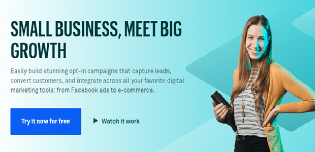LeadPages call to action banner
