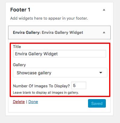 How to Use the Envira Gallery Widget - Envira Gallery