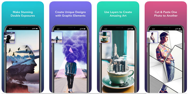 Examples of some of the things you can create using the photo editing tools of Enlight Photofox