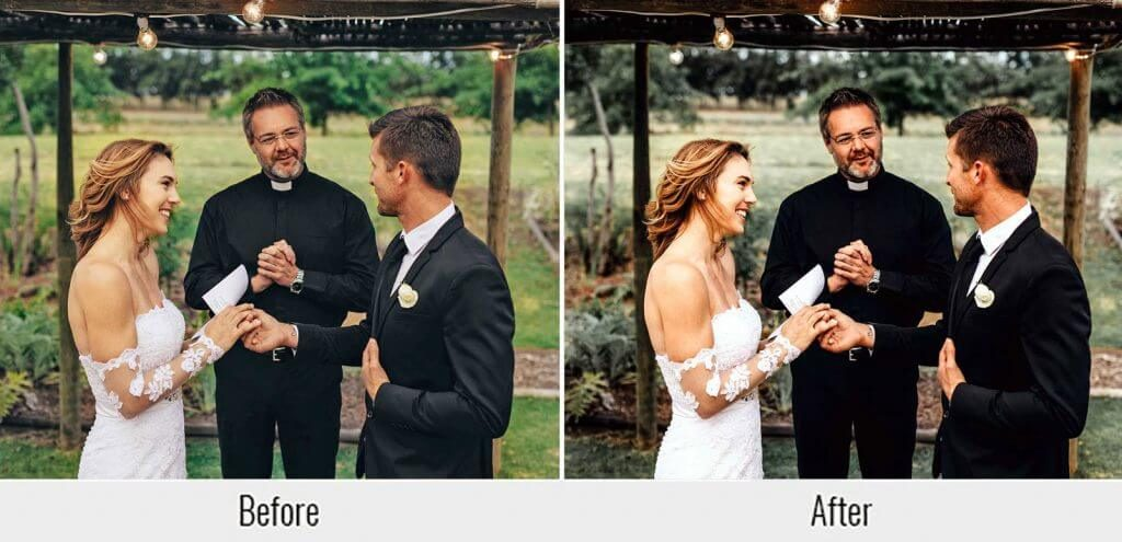 wedding presets vows