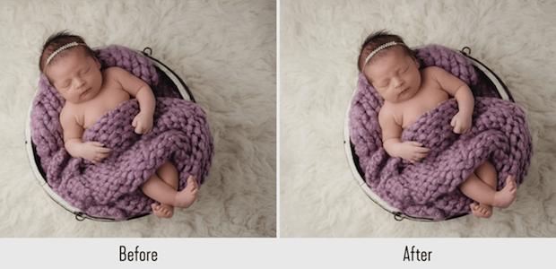 newborn baby lightroom preset