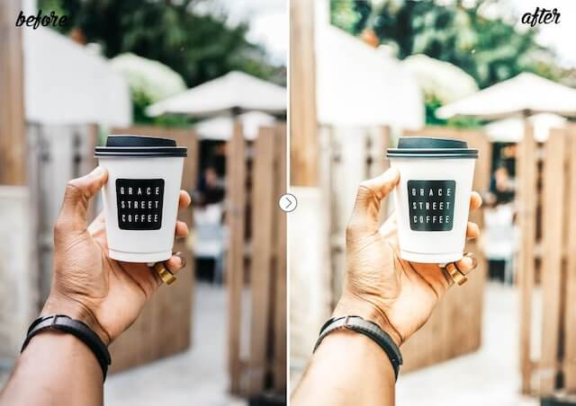 lightroom preset for iphone and android
