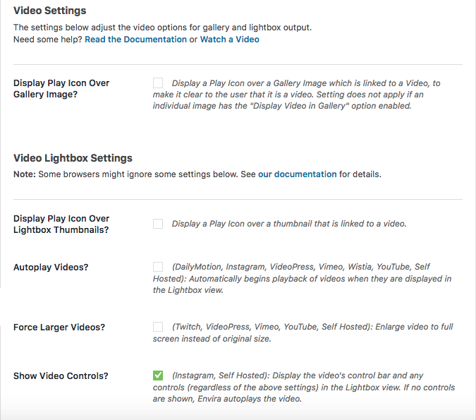 How to Create a WordPress Video Gallery with Thumbnail Playlist