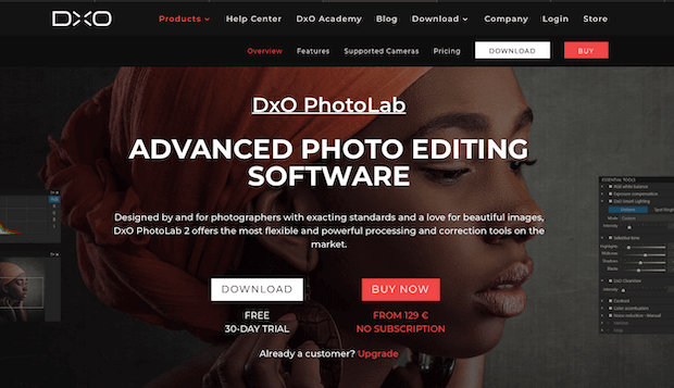 best photo editing software for photographers dxo photolab