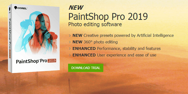best photo editing software for photographers corel paintshop pro