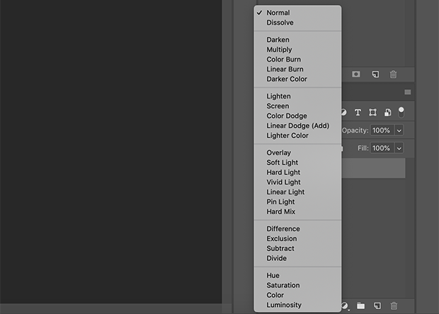 Blending Modes in Photoshop