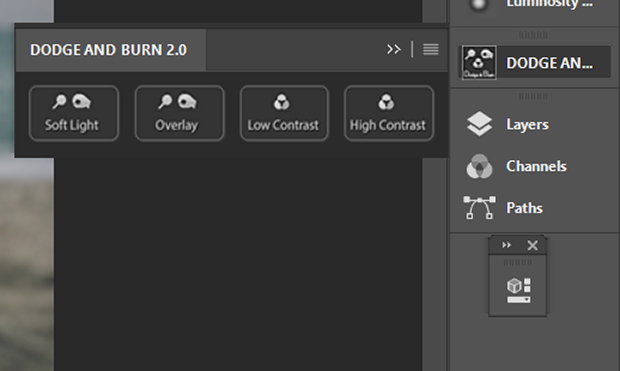Dodge and Burn 2.0 plugin in Photoshop