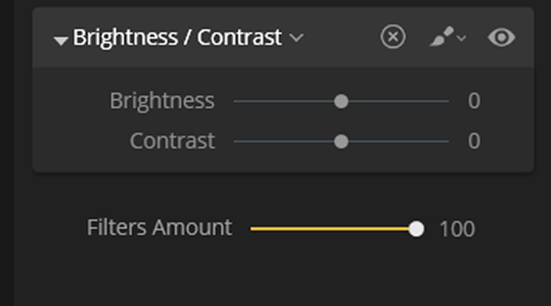 Brightness/Contrast adjustment in Luminar