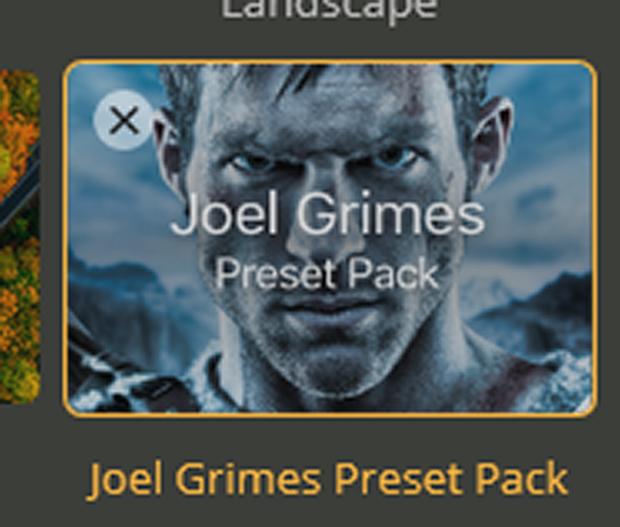 Joel Grimes Preset Pack