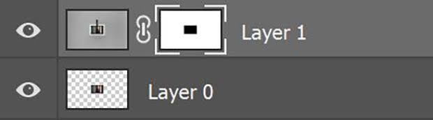 Layer 1 with a Layer Mask