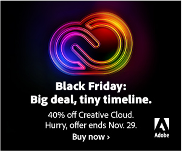 Adobe Creative Cloud Black Friday deal