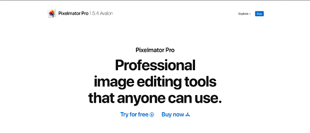 best photo editing software for Mac pixelmator