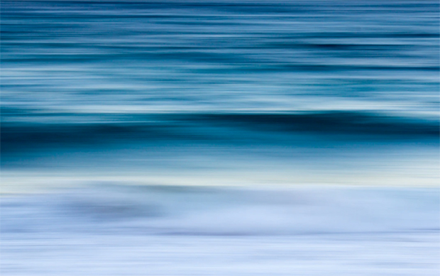 Impressionistic landscape photography