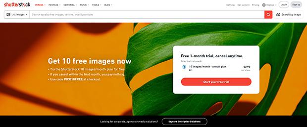 best premium stock photography websites shutterstock
