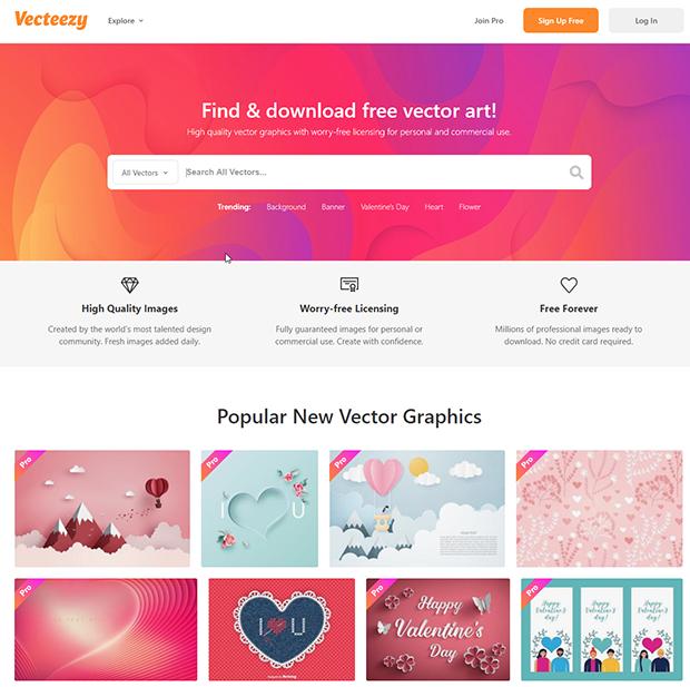 best free stock illustration sites vecteezy