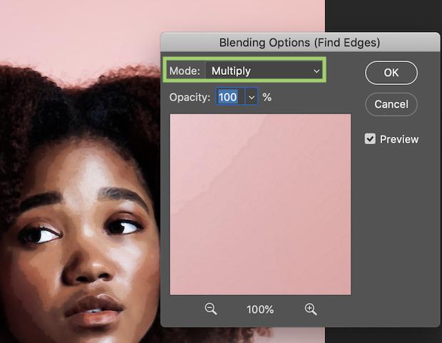 multiply blending mode photoshop