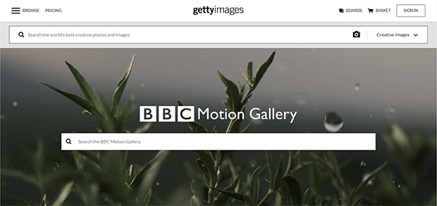 best stock photo and video sites bbc motion gallery at getty images