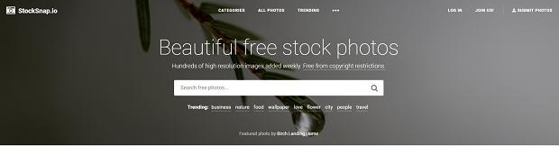 best premium stock photography websites stocksnap.io
