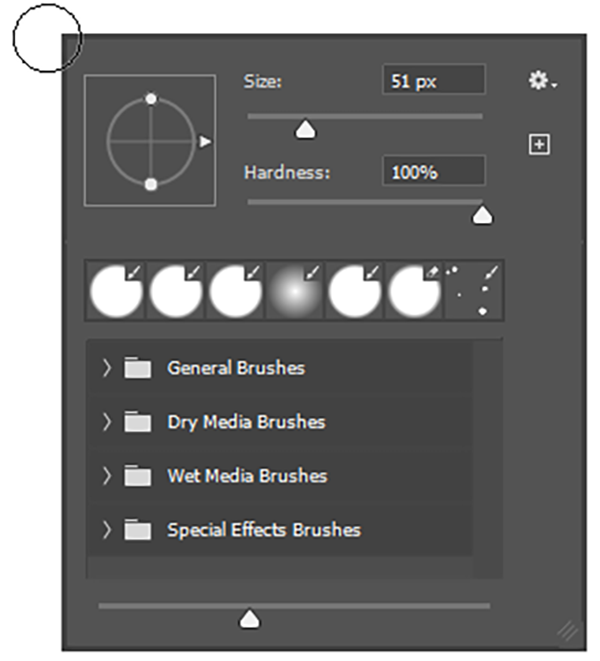 how to use the photoshop brush tool