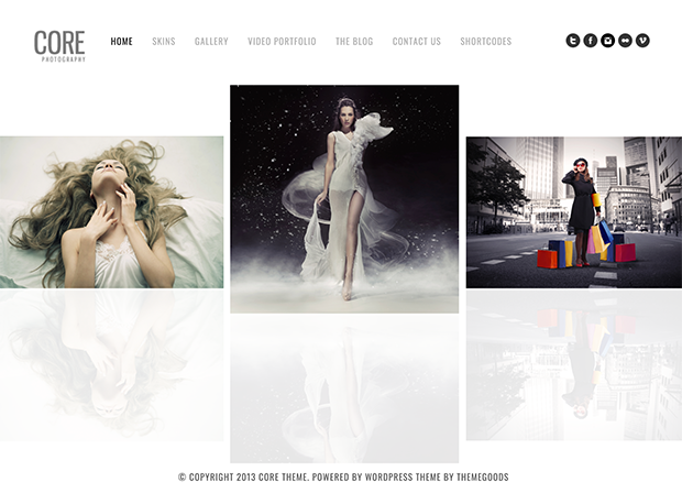 best photography wordpress themes core