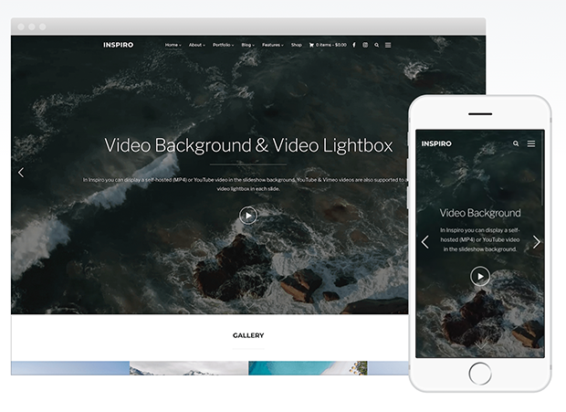 best photography wordpress themes inspiro