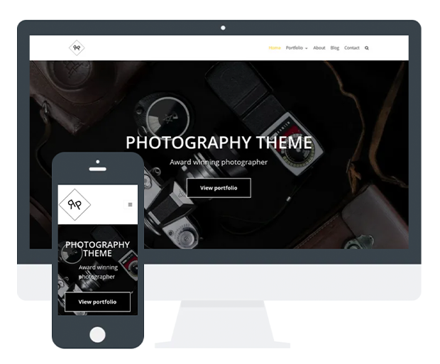 best photography wordpress themes neve photography