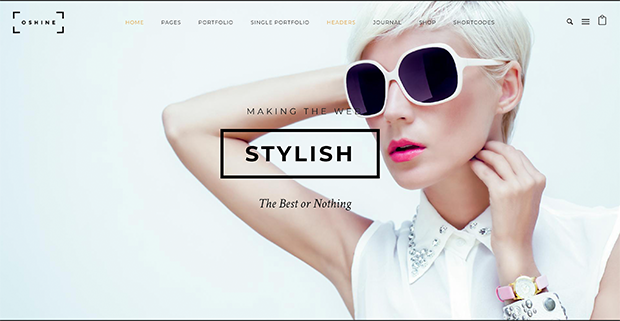 best photography wordpress themes oshine