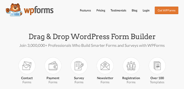 best wordpress design plugins for photographers wpforms