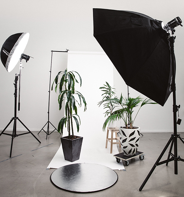 camera photography setup for product photography