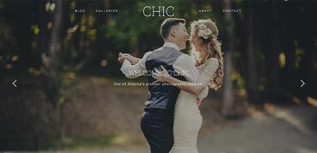 chic theme by imagely for wordpress