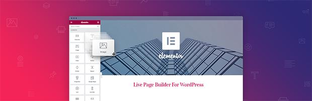 Elementor page builder for WordPress