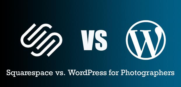 Squarespace vs. WordPress for Photographers