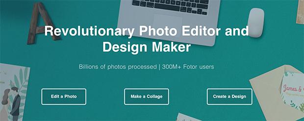 Fotor Photo Editor online free