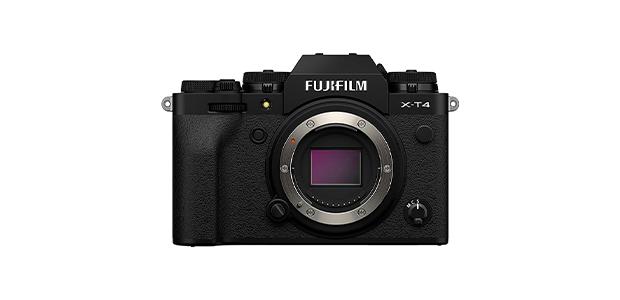 Best Mirrorless Cameras Fujifilm X-T4