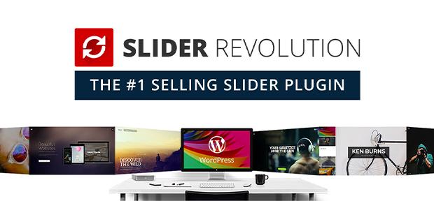 Slider Revolution WordPress slider plugin