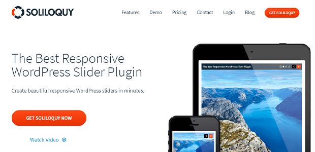 Soliloquy WordPress carousel plugin